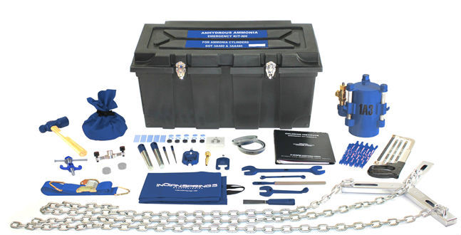 KIT-NH - Anhydrous Ammonia Cylinder Kit from Indian Springs