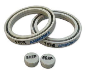 Ammonia Emergency Kit Replacement Gasket Set, EPDM from Indian Springs