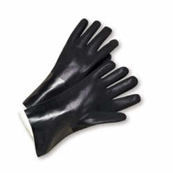 "10"" Rought Jersey PVC Glove, Sandpaper Grip from West Chester"