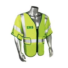 EMS Breakaway Mesh Safety Vest, Class 3