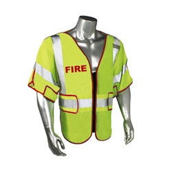 Firefighter Breakaway Mesh Safety Vest, Class 3 from Radians