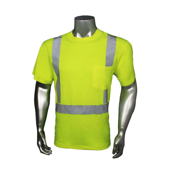 Green Hydrowick Safety T-shirt from Radians