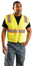 Mesh Two-Tone Surveyor Vest from Occunomix