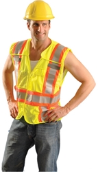 Mesh Two-Tone Expandable Vest