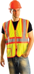 Mesh Two-Tone Safety Vest