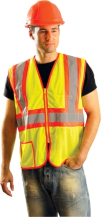 Mesh Two-Tone Safety Vest from Occunomix