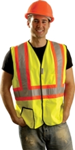 Solid Two-Tone Safety Vest from Occunomix