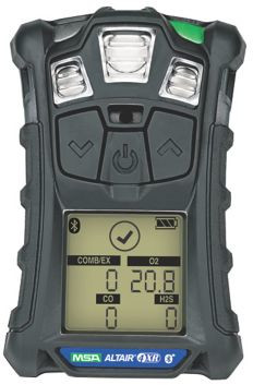ALTAIR 4XR Multi-Gas Detector for O2/LEL/CO/H2S from MSA