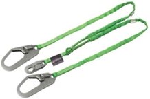 Manyard Shock-Absorbing Lanyard, Two Legs Rebar Hook from Miller by Honeywell