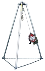 Miller Confined Space Tripod w/ MightEvac Self-Retracting Lifeline from Miller by Honeywell