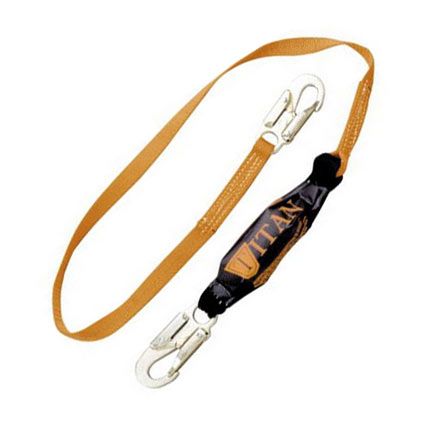 Titan II Pack-Type Shock-Absorbing Lanyard from Miller by Honeywell