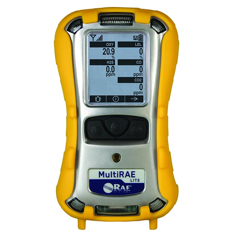 MultiRAE Lite Diffusion Multi-Gas Detector, PGM-6208D from RAE Systems by Honeywell