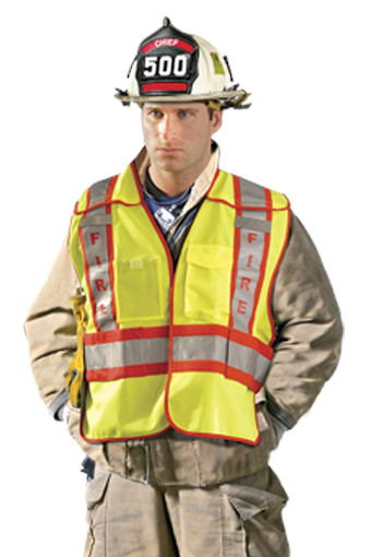 Public Safety Fire Vest from Occunomix