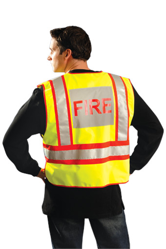 Public Safety Fire Vest Lux Psf Md Lg Lux Psf Xl 2x