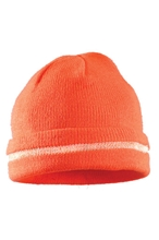 Hi-Viz Knitted Cap w/ 3M Reflective Thread from Occunomix