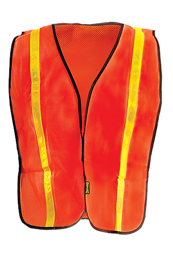 Non-ANSI Value Mesh Gloss Tape Vest from Occunomix
