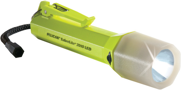Pelican SabreLite Recoil LED 2010PLC w/ Photo Luminescent Shroud from Pelican