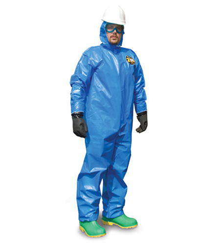 Zytron 100 XP Coverall w/ Hood, Boots, Elastic Wrists, Serged Seams. from Kappler