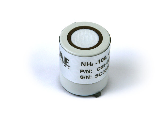 Ammonia (NH3) Sensor for MultiRAE, AreaRAE & ToxiRAE Pro from RAE Systems by Honeywell