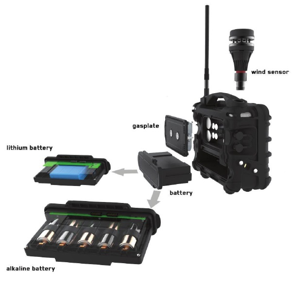 AreaRAE Plus Wireless Gas Detector