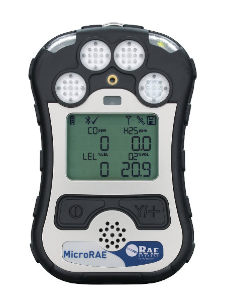 Microrae Gas Detector For O2 Lel Co H2s M031 1111 200