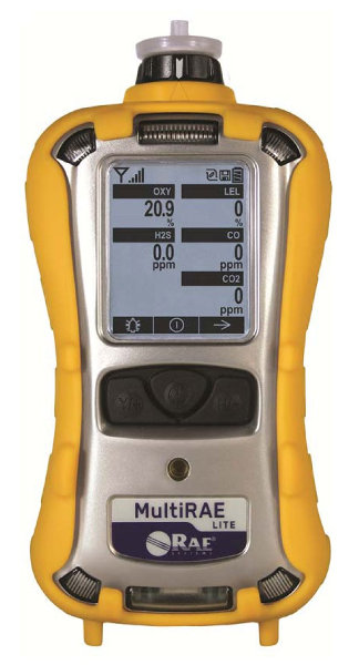 MultiRAE Lite Multi-Gas Detector w/ Pump, PGM-6208 from RAE Systems by Honeywell