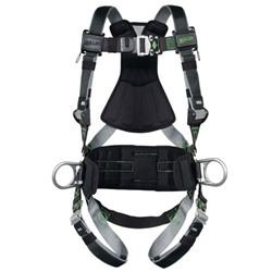 Full Body Harnesses Side D-Rings & Pad, Quick Connect
