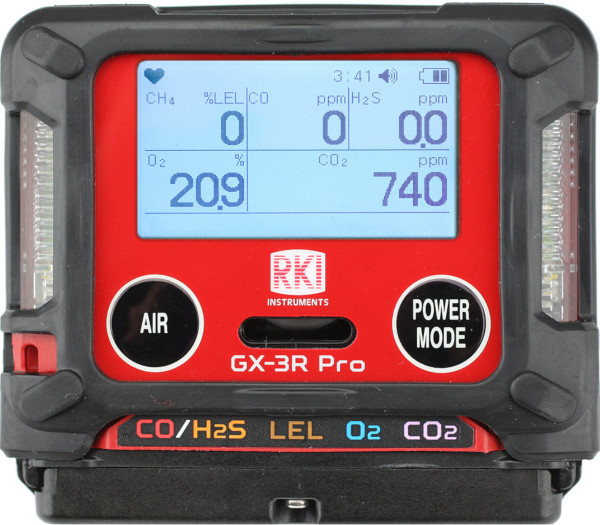 GX-3R Pro Personal 5-Gas Monitor from RKI Instruments