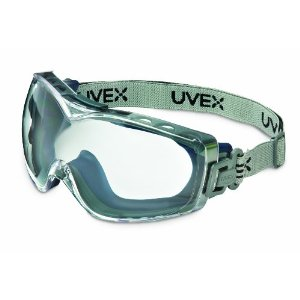 Stealth OTG Goggle w/ Fabric Headband from Uvex by Honeywell