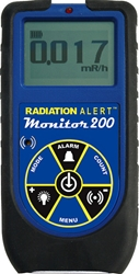 Radiation Alert Monitor 200 Compact Radiation Meter from S.E. International