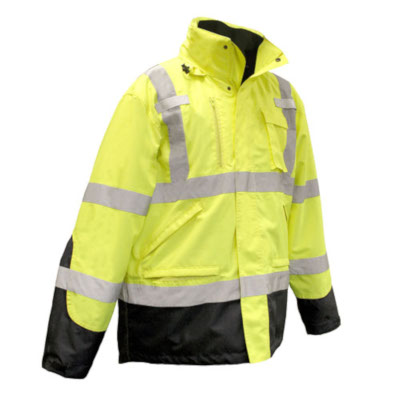 Three-in-One Hi-Viz Weatherproof Parka, Class 3 from Radians