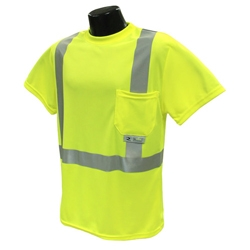 Hi-Viz Moisture Wicking Safety T-Shirt, Class 2 from Radians