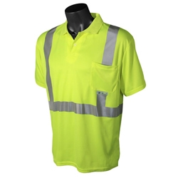 Hi-Viz Moisture Wicking Polo Shirt, Class 2 from Radians