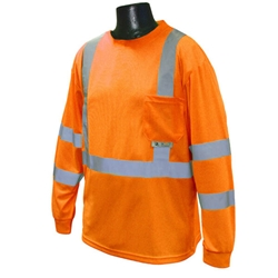 Hi-Viz Long Sleeve T-Shirt w/ Max-Dri, Class 3  from Radians
