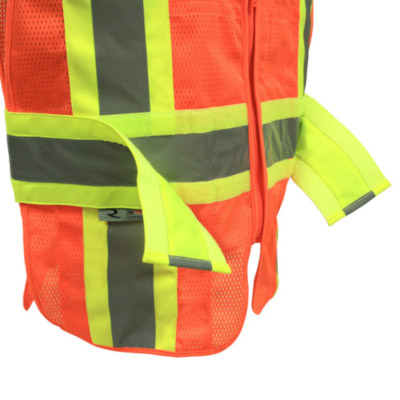 Expandable Two Tone Safety Vest, Class 2 from Radians
