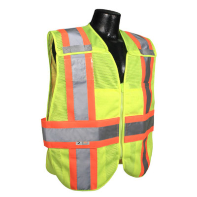 Breakaway Expandable Two-Tone Safety Vest, Class 2 from Radians