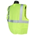 Economy Class 2 Safety Vest Green Solid