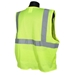 Economy Green Mesh Class 2 Safety Vest With Zipper