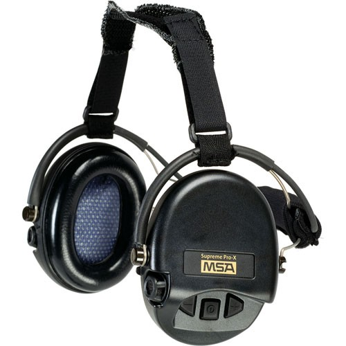 Supreme Pro-X Muff, Neckband Model from MSA