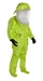 Tychem 10000 Level A Encapsulated Suit w/ Expanded Back, Front Entry from DuPont