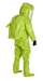 Tychem 10000 Level A Encapsulated Suit w/ Expanded Back, Front Entry - TK554T  LY  00