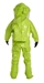 Tychem 10000 Level A Suit w/ Viton Glove, Expanded Back, Front Entry - TK554T  LY  5C