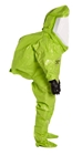 Tychem  10000 Level A Encapsulated Suit (NFPA 1994, Class 2) w/ Expanded Back, Rear Entry - TK613T  LY  00