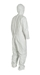 Tyvek 400 Coverall w/ Respirator Fit Hood, Elastic Wrists & Ankles - TY127S  WH  00