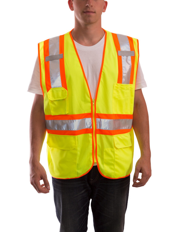 Job Sight Two-Tone Vest from Tingley