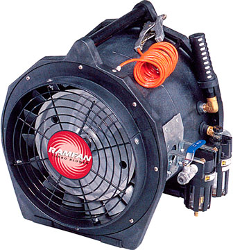 "12"" Intrinsically Safe Air Driven Blower/ Exhauster from Euramco Safety"