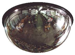 "26"" Full Dome All-Vu Acrylic Security Mirror from Lester L. Brossard Company"