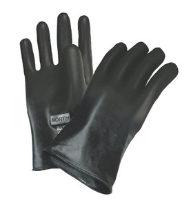 North Butyl Gloves, Smooth Finish Glove