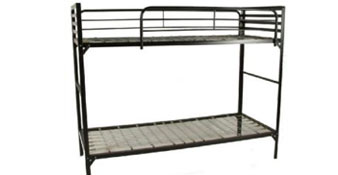 Institutional Bunk Bed w/ 2 Guardrails from Blantex