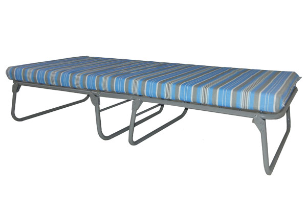 Oversized Steel Folding Bed w/ Foam Mat from Blantex